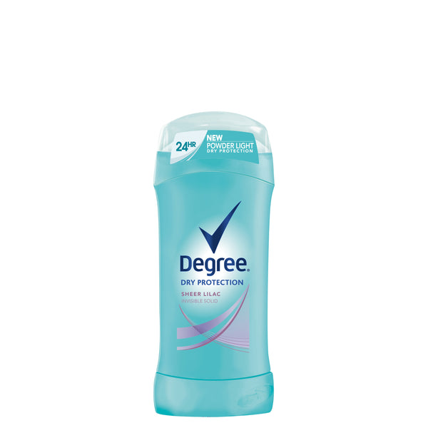Degree Dry Protection Sheer Lilac Invisible Solid Anti-Perspirant Deodorant, 2.6 oz.