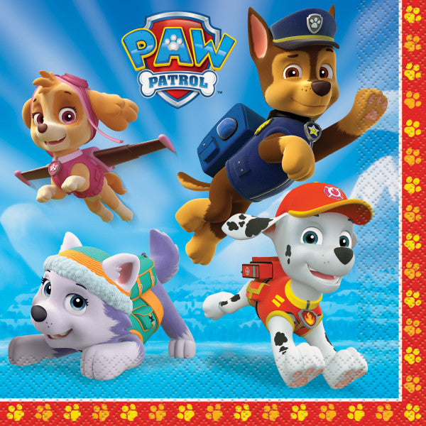 Paw Patrol Luncheon Napkins, 16ct