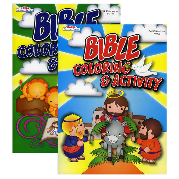 Bible Coloring & Activity Book, 1-ct