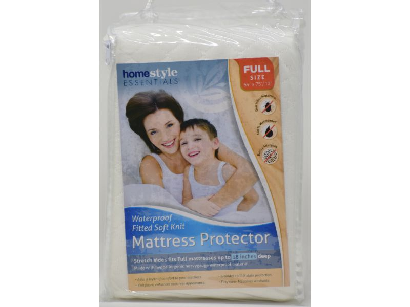 "Mattress Protector Full size 54"" x 75/12"", 1-ct"