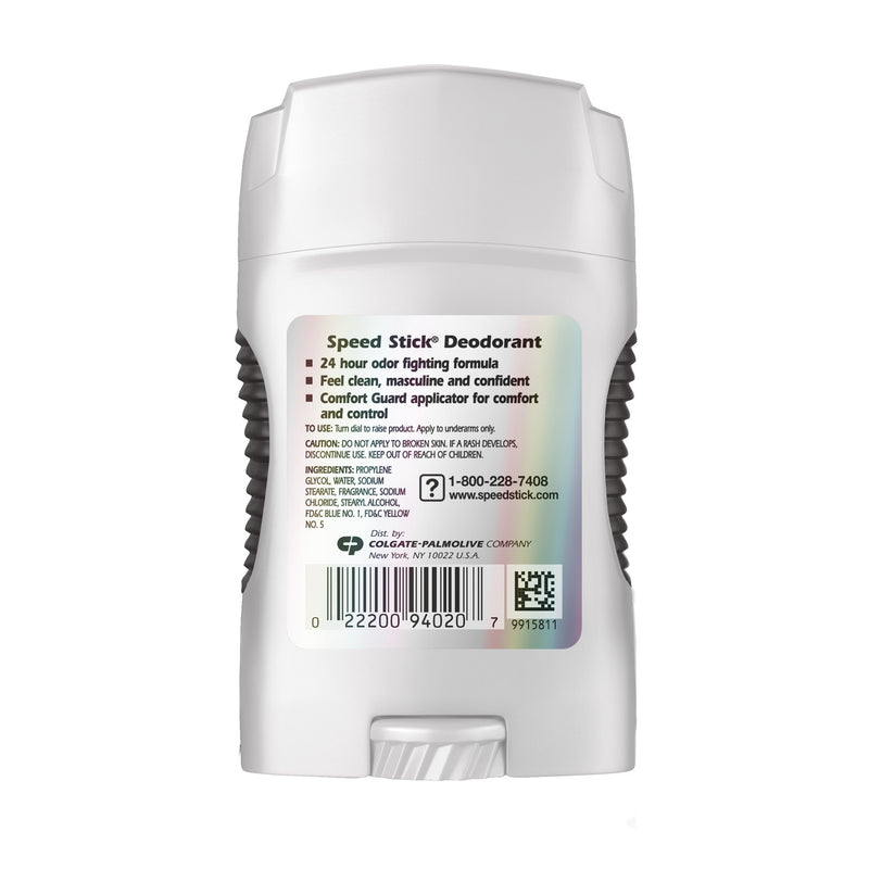 Speed Stick Regular Deodorant 24 Hour Protection, 1.8 oz.