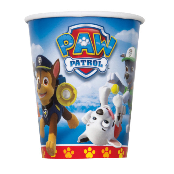 Paw Patrol 9oz Paper Cups, 8ct