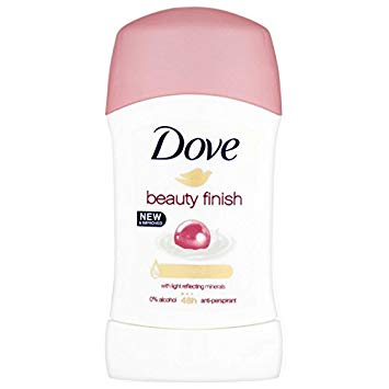 Dove Beauty Finish with Light Reflecting Minerals Deodorant, 40 ml