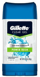 Gillette Clear Gel Power Rush Anti-Perspirant Deodorant 3.8 oz.