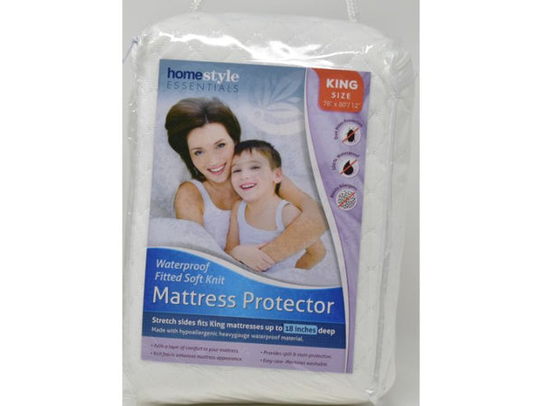 "Mattress Protector King size 78"" x 80/12"", 1-ct"
