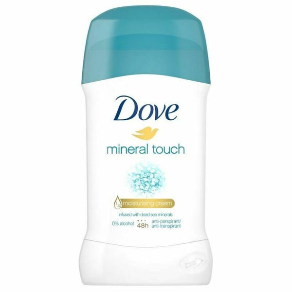Dove Mineral Touch Infused with Dead Sea Minrals Anti-Perspirant Deodorant, 40 ml