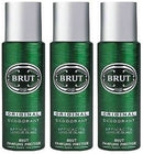 Brut Deodorant Spray, 200ml (Pack of 3)