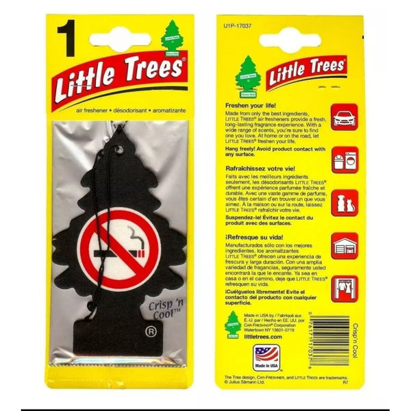 Little Trees Crisp 'N Cool Anti-Smoking Scent Air Freshener, 1 ct.