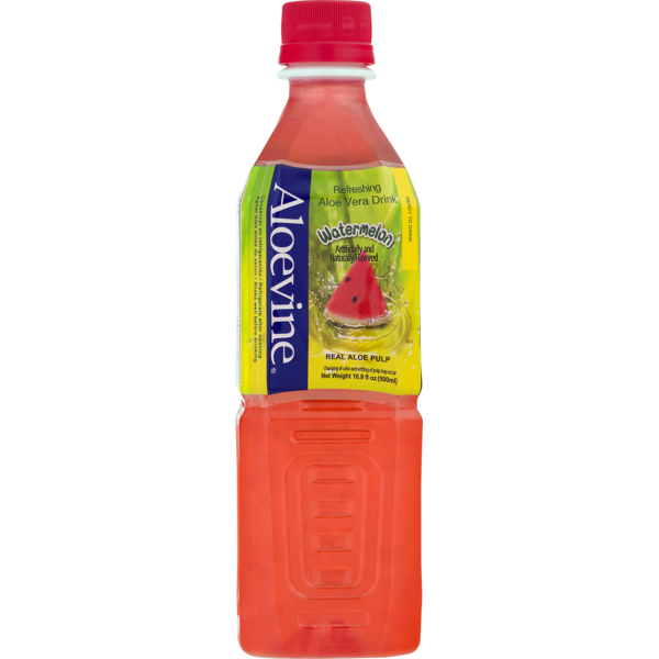 Aloevine Watermelon Drink, 500 ml