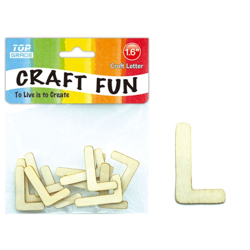 "Craft Letter ""L"",1-ct."