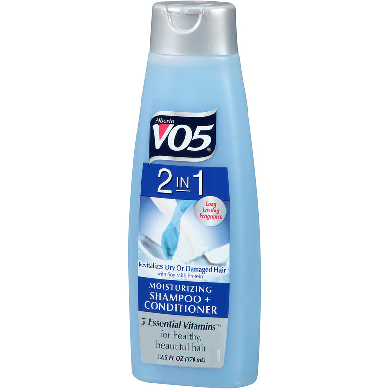 VO5 2-in-1 Shampoo & Conditioner with Soy Milk Protein, 12.5 fl oz.