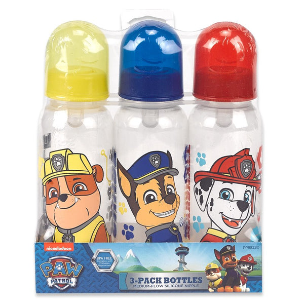 Paw Patrol Baby Bottle, 3 Pack (9 oz.)