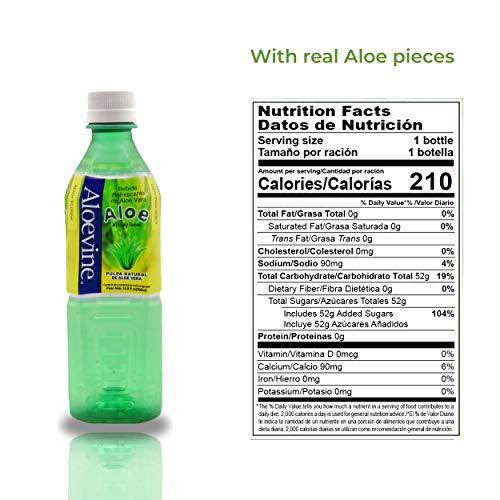 Aloevine Aloe Drink, 500 ml