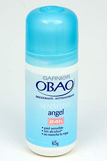 Garnier Obao for Women Sensitive Angel Deodorant, 2.3 oz.