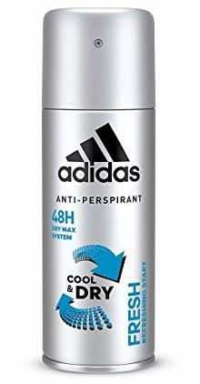Adidas Climacool Performance In Motion 48 Hour Anti-Perspirant Spray Deodorant, 150ml