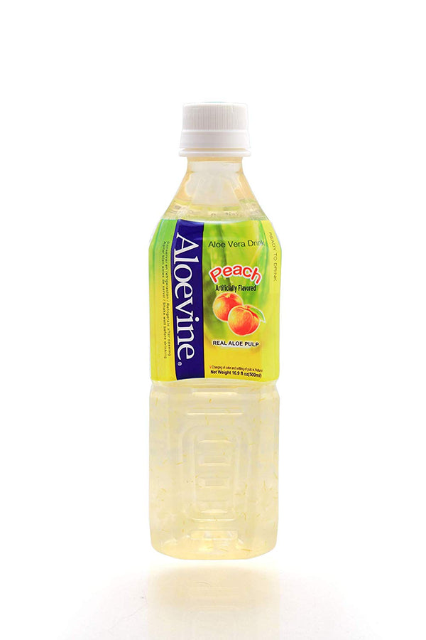 Aloevine Peach Drink, 500 ml