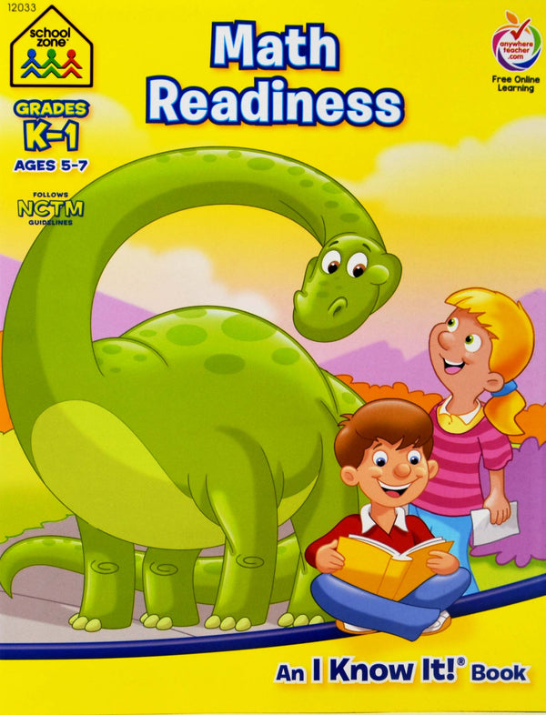 Math Readlines Book, 1-ct