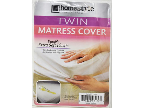 Mattress Twin Cover, 1-ct