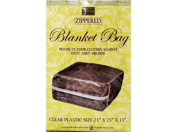 "Blanket Zippered Storage Bag 21"" x 25"" x 11"", 1-ct"