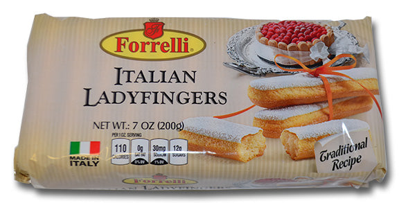 Forrelli Italian Ladyfingers, Made in Italy, 7 oz.