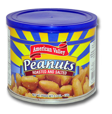 American Valley Peanuts, Roasted and Salted, 5.3 oz.