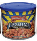 American Valley Peanuts, Party Peanuts, 5.3 oz.