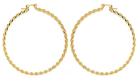 14 KT Pincatch GF Earrings, 70 mm
