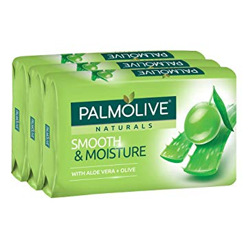 Palmolive Naturals Smooth & Moisture Aloe Vera + Olive, 3 ct. 80g