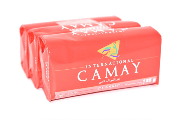 International Camay Classic Fragrance Soap, 3 ct. 125g