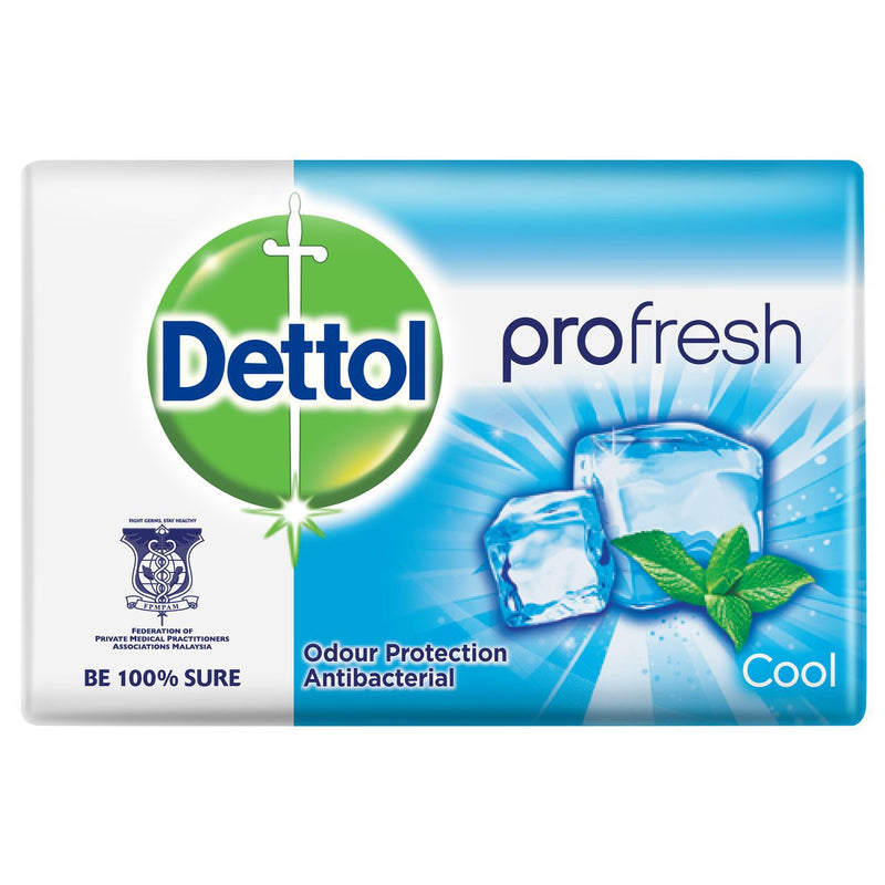 Dettol Cool Anti-Bacterial Bar Soap, 105g
