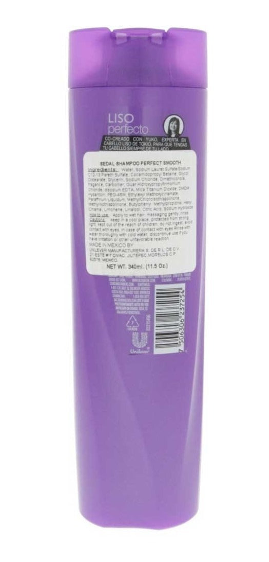 Sedal Co-Creations por Yuko Liso Perfecto Shampoo, 340 ml