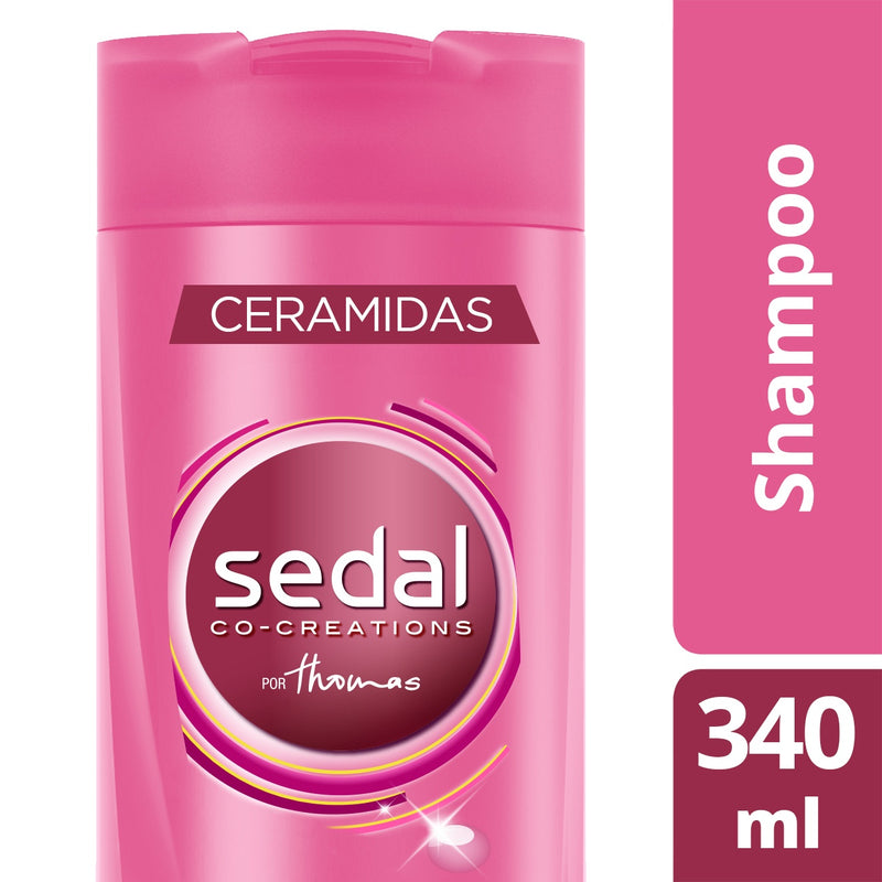 Sedal Co-Creations por Thomas Ceramidas Shampoo, 340 ml