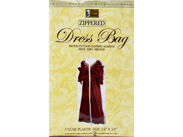 "Dress Zippered Bag 24"" x 40"" ,1-ct"