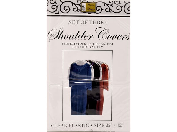 "Shoulder Covers 22"" x 12"", Set of 3"