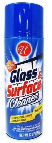 Glass & Surface Cleaner Foaming Action Streak-Free, 13 oz.
