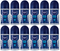 Nivea Fresh Active Antiperspirant Roll-on, 50ml (Pack of 12)