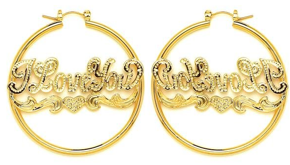 14 KT Pincatch GF Earrings, 45 mm