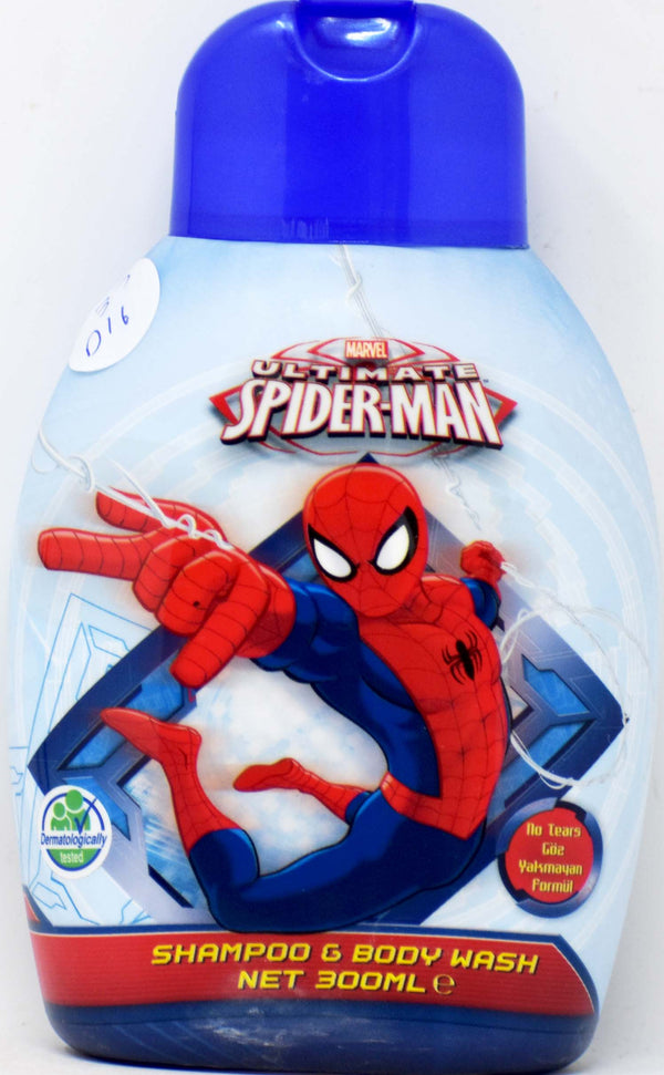 Disney Spiderman Shampoo & Body Wash, 300 ml