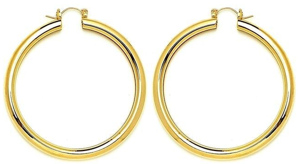 14 KT Pincatch GF Earrings, 65 mm
