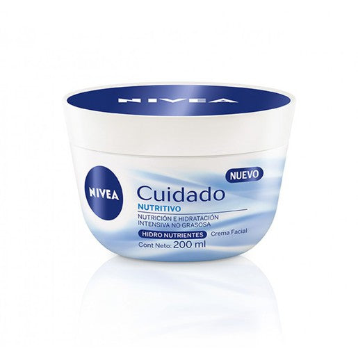 Nivea Cuidado Nutritivo Face Cream, 200 ml