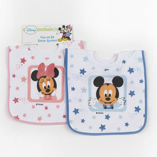Disney Mickey / Minnie Mouse™ Baby Pullover Bib, 0+ Months