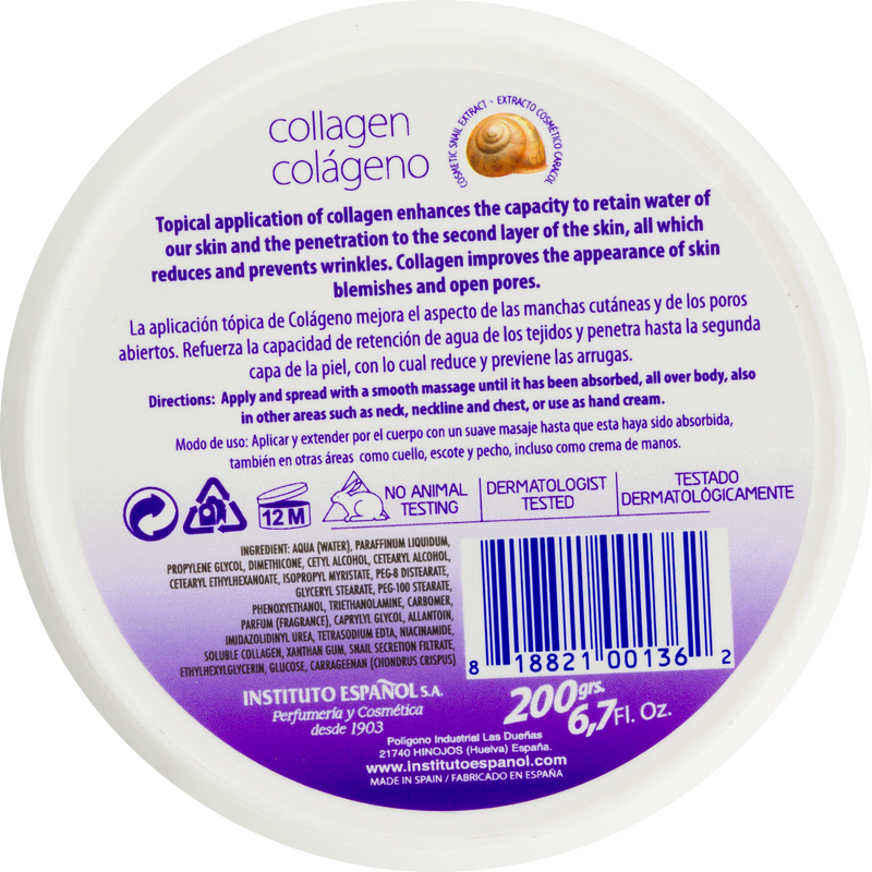 Avena Collagen Regeneration Cream Skin Repair Formula, 6.7 fl. oz.