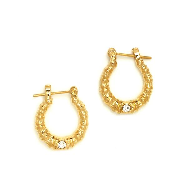 14 KT Pincatch GF Earrings, 15 mm