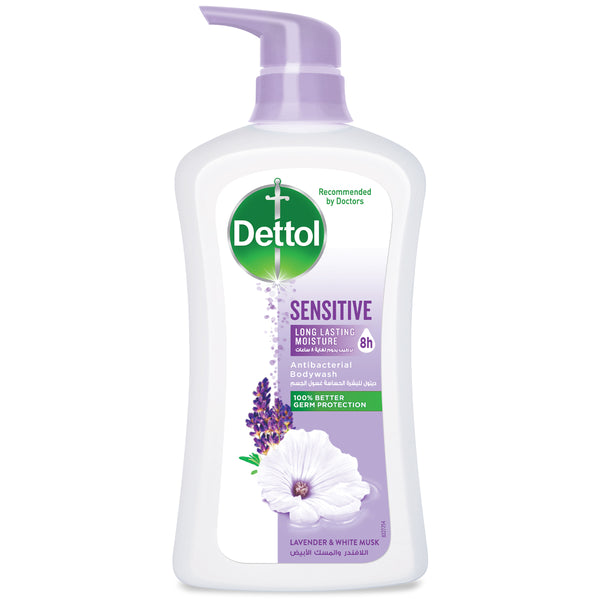 Dettol Sensitive Anti-Bacterial pH Balanced Bodywash, 625 ml