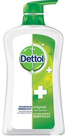 Dettol Original Anti-Bacterial pH Balanced Bodywash, 625 ml