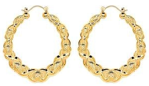 14 KT Pincatch GF Earrings, 55 mm