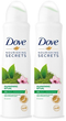 Dove Nourishing Secrets Awakening Ritual Antiperspirant, 150ml (Pack of 2)