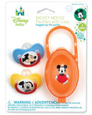 Disney Mickey / Minnie Mouse Baby Pacifier Set, 6+ Months (2-Pack)