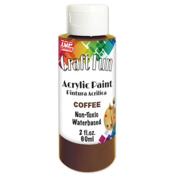 2oz Acrylic Paint Coffee, 1-ct.
