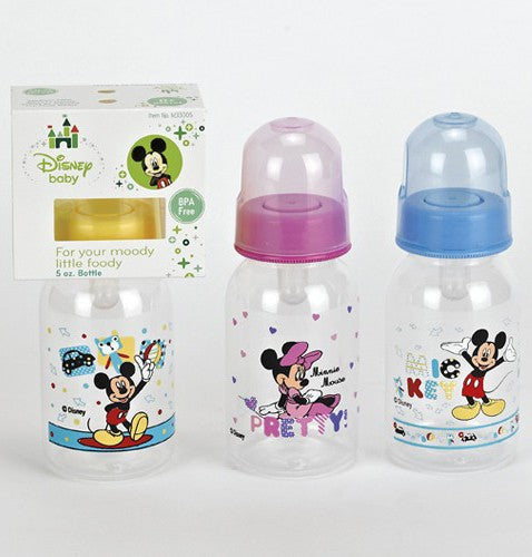 Disney Mickey / Minnie Mouse 5 oz. Baby Bottle
